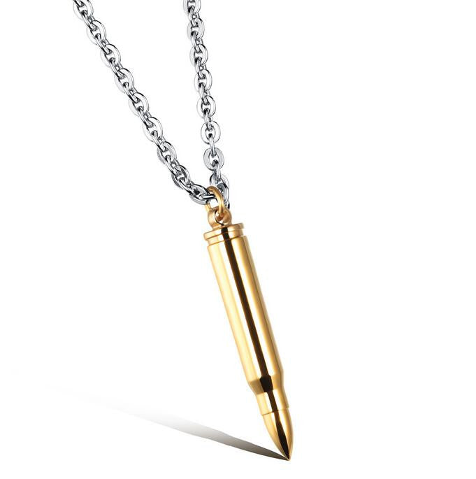 Bullet Necklace - Rep ya Hood