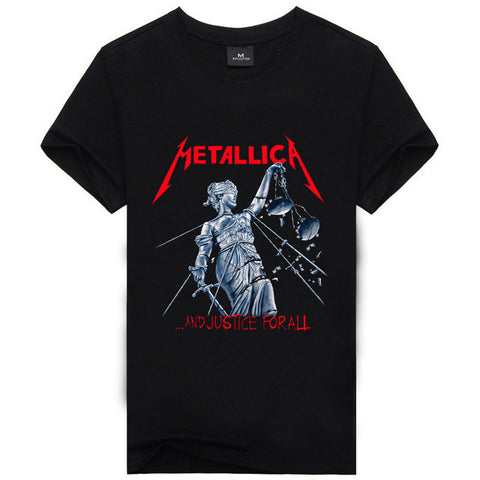 Iron Maiden AC DC Metallica T Shirt