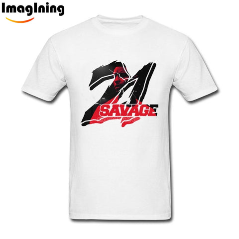 21 Savage T Shirt White