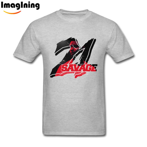 21 Savage T Shirt Gray