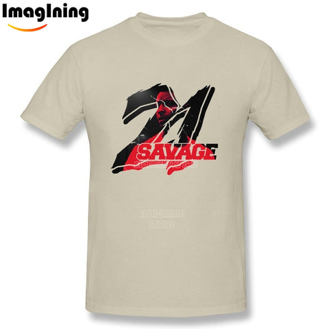 21 Savage T Shirt Natural