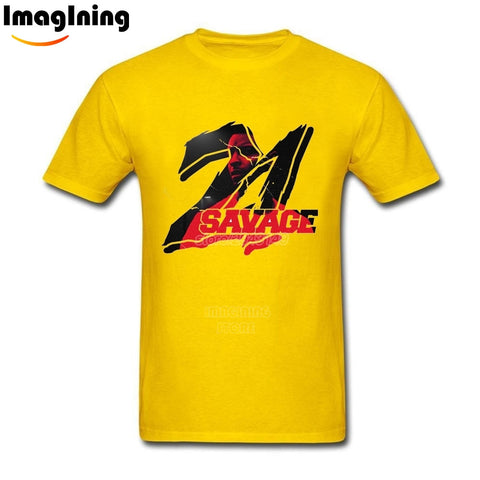21 Savage T Shirt Yellow