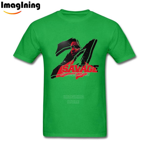 21 Savage T Shirt Green