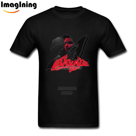 21 Savage T Shirt Black
