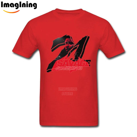 21 Savage T Shirt Red