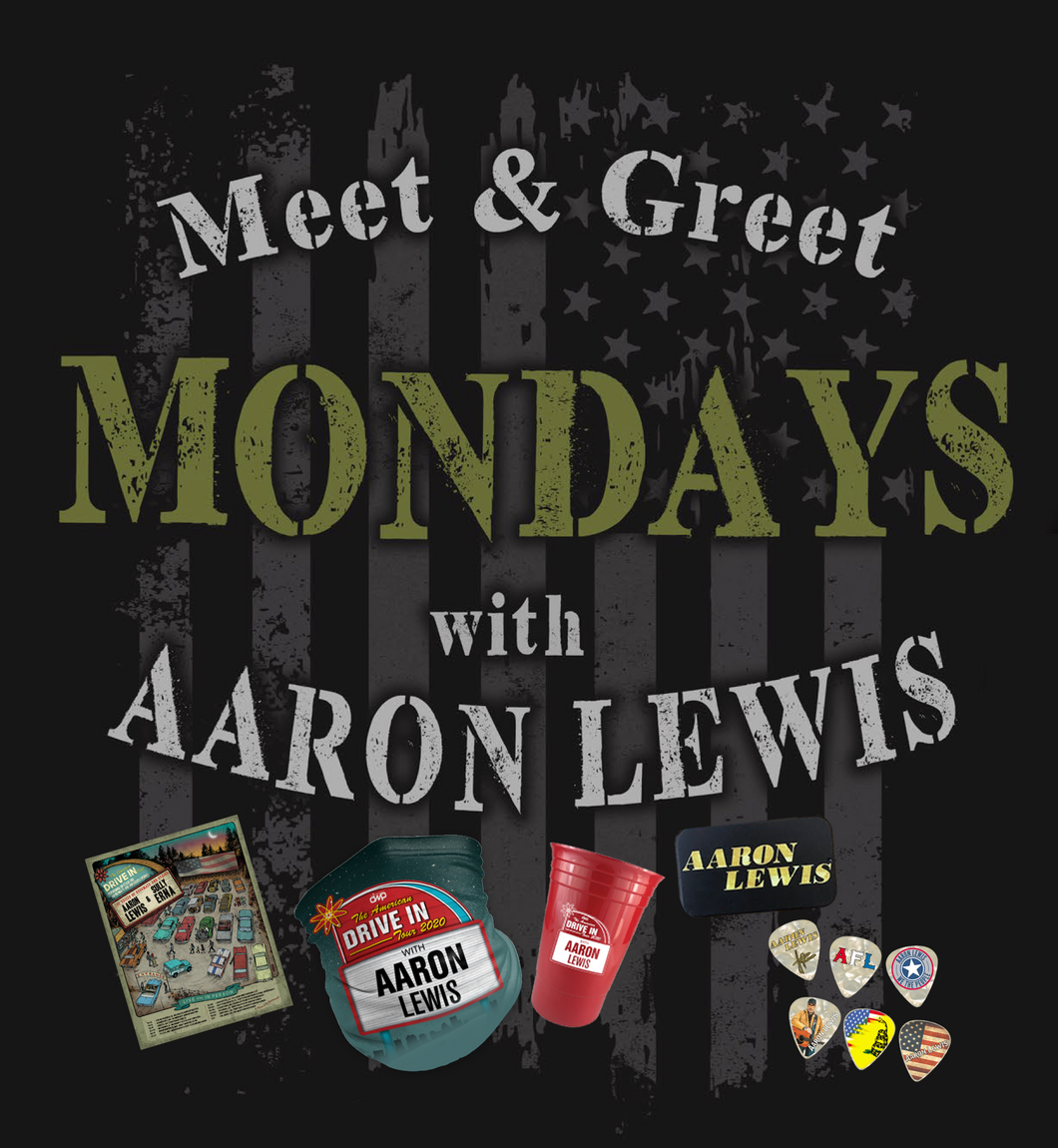 11/09/20 - 7 PM EST - Meet and Greet Mondays with AFL Virtual Meet and Greet and Signed Merch Package