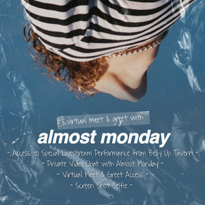 10/27/20 - Almost Monday Virtual Meet & Greet Experience Package