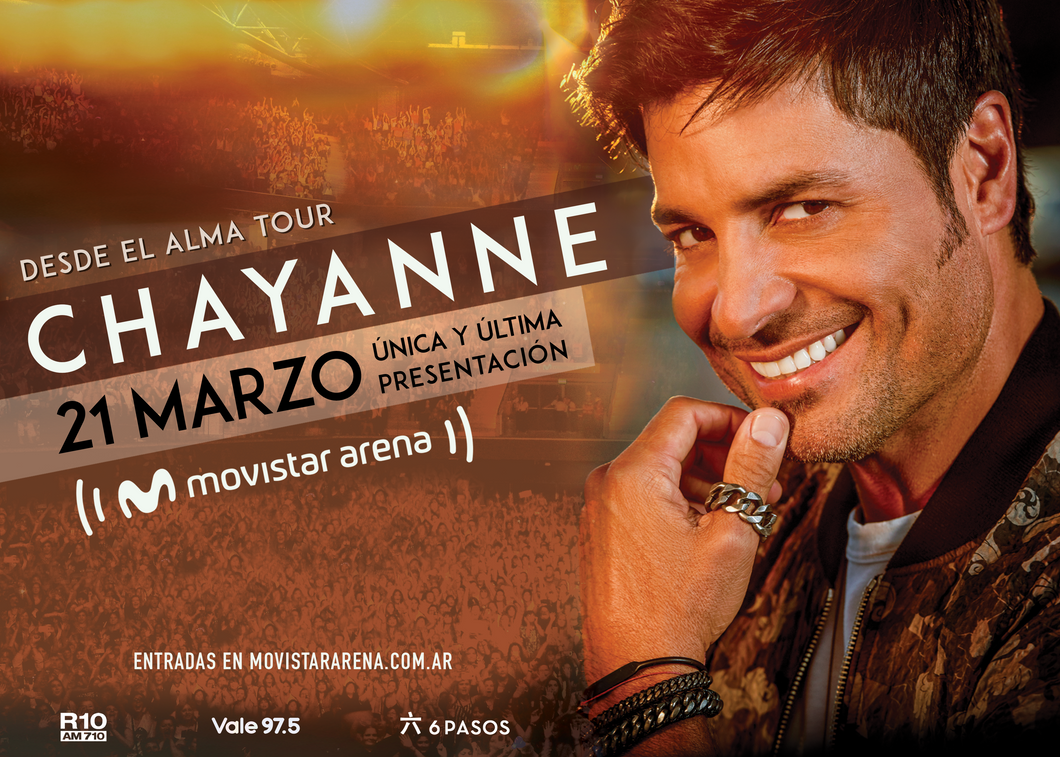 03/21/2020 - Buenos Aires, Argentina - Ticket VIP