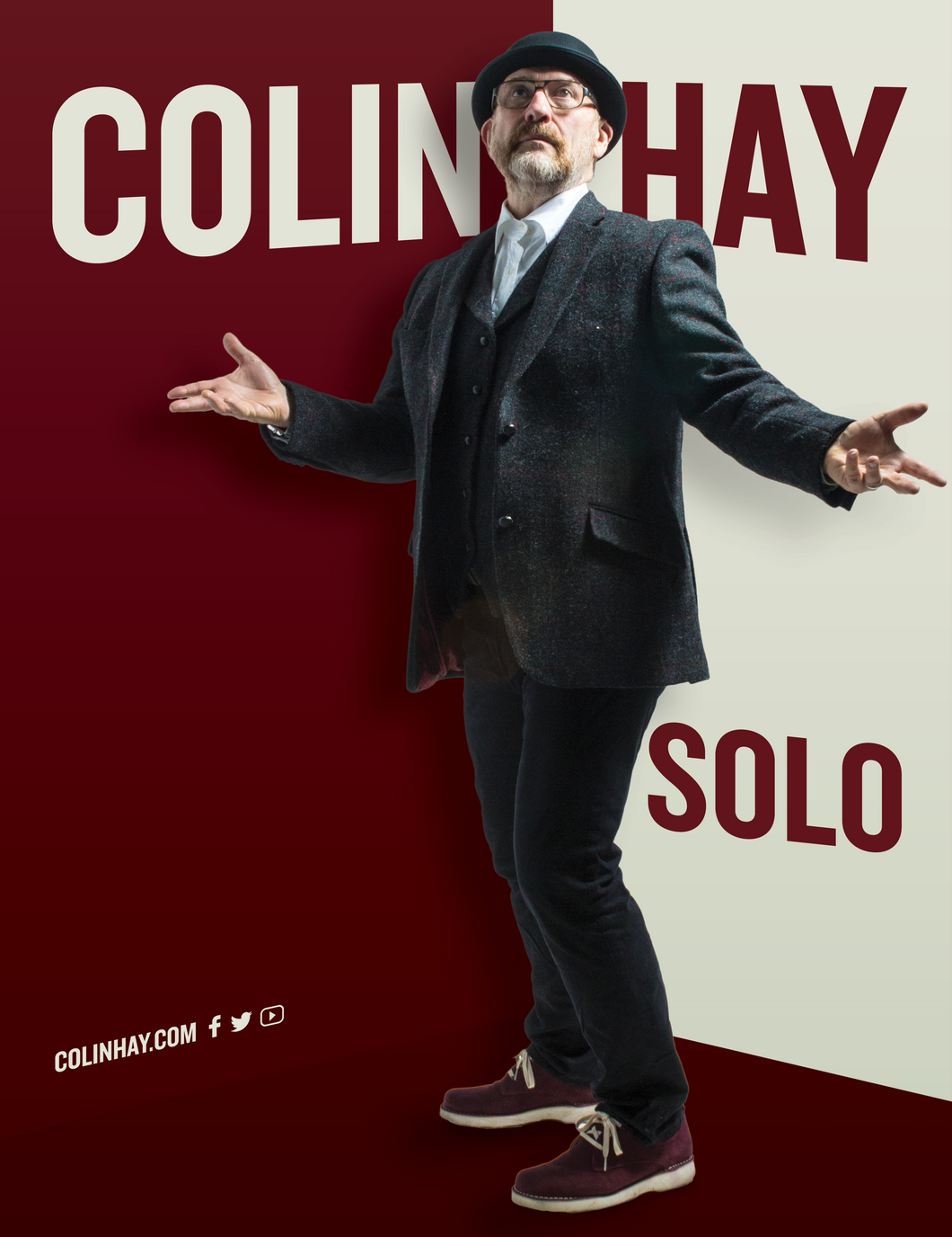 05/07/20 - Baton Rouge, LA - The Manship Theatre - Colin Hay Ticketless Meet & Greet Package