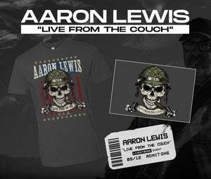 08/12/20 - 7 PM EST -  Live From the Couch with AFL Livestream Merch Package
