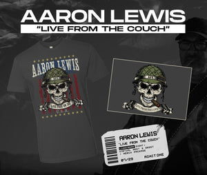 07/29/20 - 7 PM EST -  Live From the Couch with AFL Virtual Meet and Greet and Merch Package