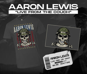 08/05/20 - 7 PM EST -  Live From the Couch with AFL Livestream Merch Package