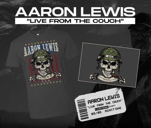 08/05/20 - 7 PM EST -  Live From the Couch with AFL Virtual Meet and Greet and Merch Package