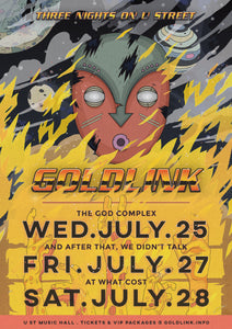 07/27/18 - Washington, DC - U Street Music Hall - Goldlink VIP Upgrade Package