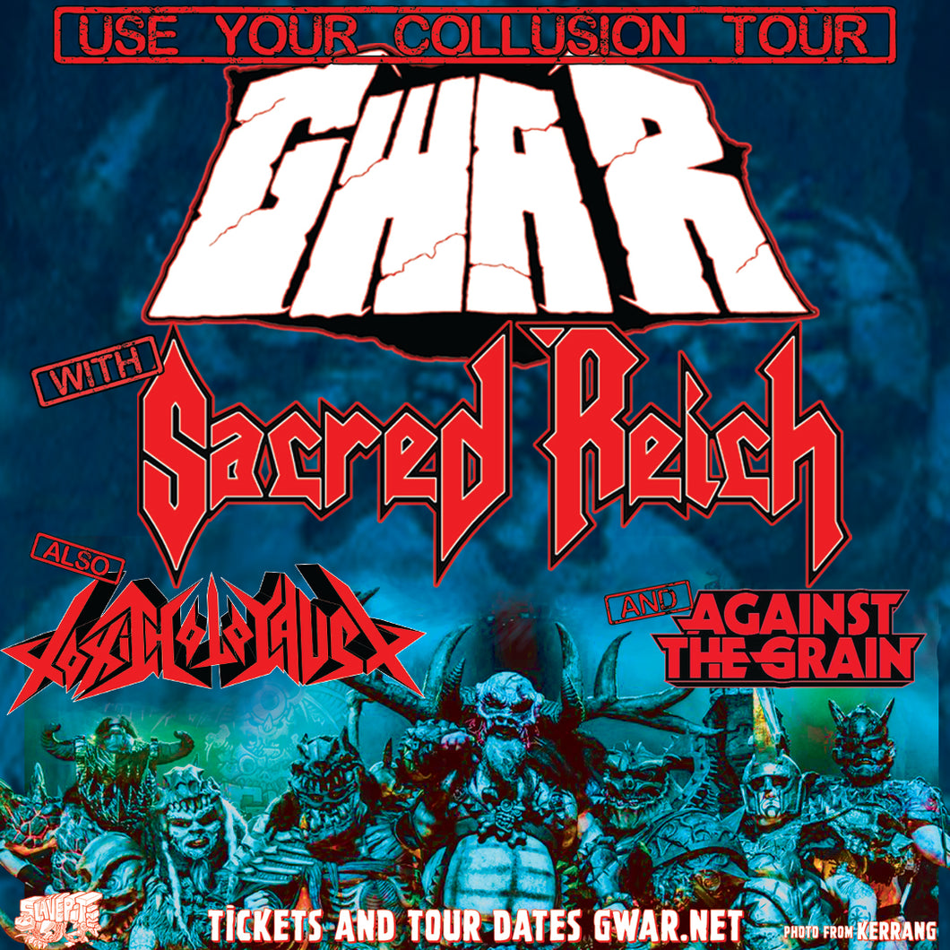 10/23/19 - Fresno, CA - Tioga-Sequoia Brewery - GWAR Lords & Masters VIP Experience