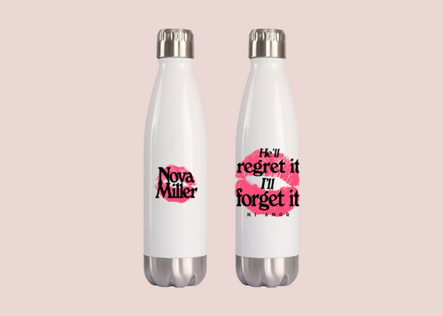 Regret It / Forget It Water Bottle