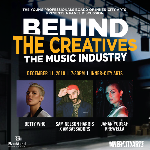 12/11/19 - Los Angeles, CA - BEHIND THE CREATIVES: THE MUSIC INDUSTRY