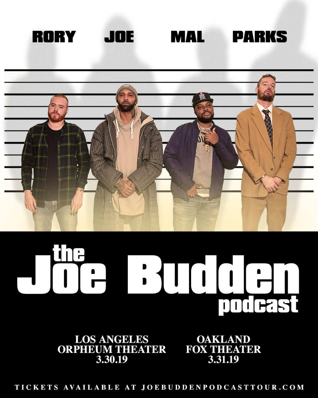 03/30/2019 - Los Angeles, CA - Orpheum Theater - Joe Budden VIP Experience Package
