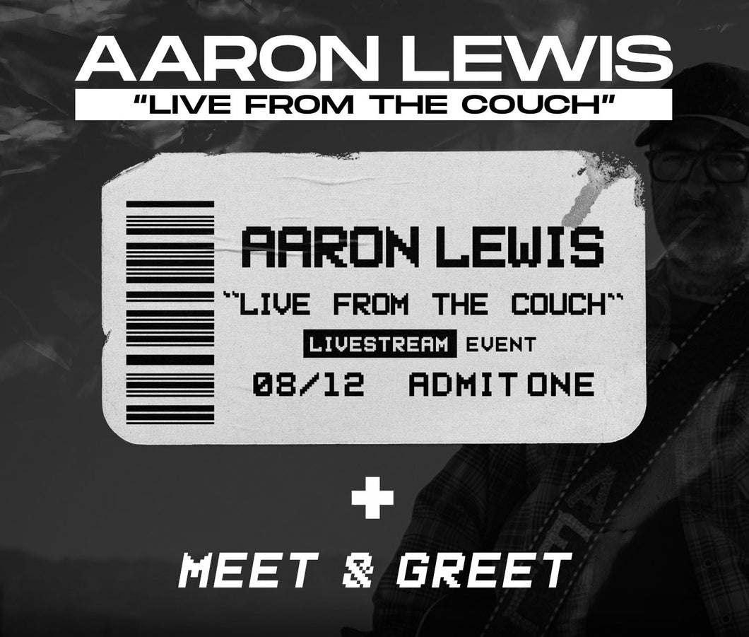 08/12/20 - 7 PM EST - Live From the Couch with AFL Virtual Meet and Greet Package