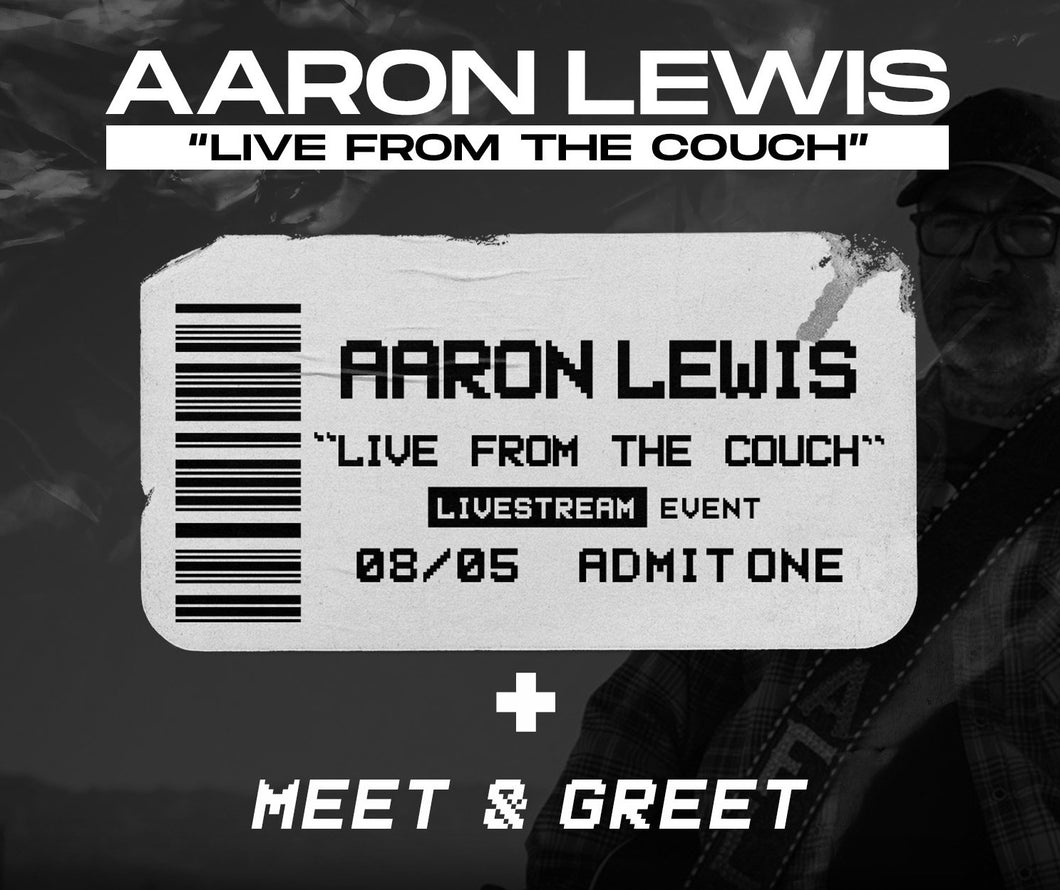 08/05/20 - 7 PM EST -  Live From the Couch with AFL Virtual Meet and Greet Package