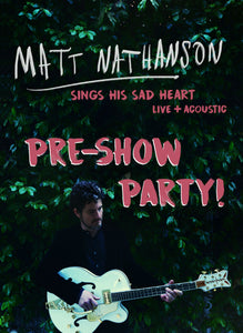03/24/19 - San Diego, CA - Music Box - Matt Nathanson Pre-Show Party