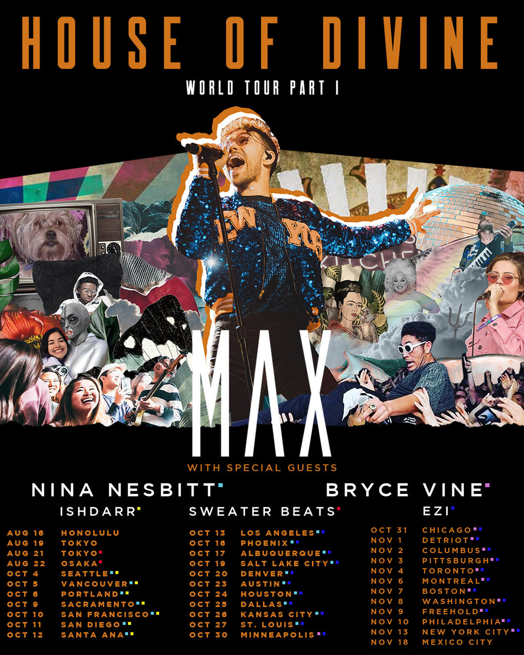 11/09/2018 - Freehold, NJ - iPlay America's Event Center MAX Ticketless VIP Upgrade