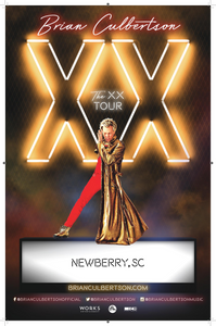 04/22/21 - Newberry, SC - Newberry Opera House - Brian Culbertson Ticketless VIP Upgrade Packages