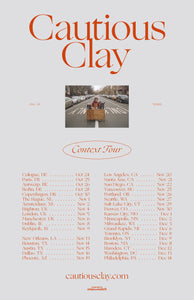 12/11/19 - Boston, MA - Paradise Rock Club - Cautious Clay Meet & Greet Ugrade Package