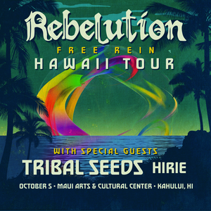 10/05/18 - Kahului, HI - Maui Arts & Cultural Center - Rebelution VIP Merch Pack