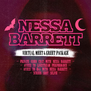 10/31/20 - 1 PM PST / 4 PM EST - Nessa Barrett Virtual Meet & Greet Experience Package