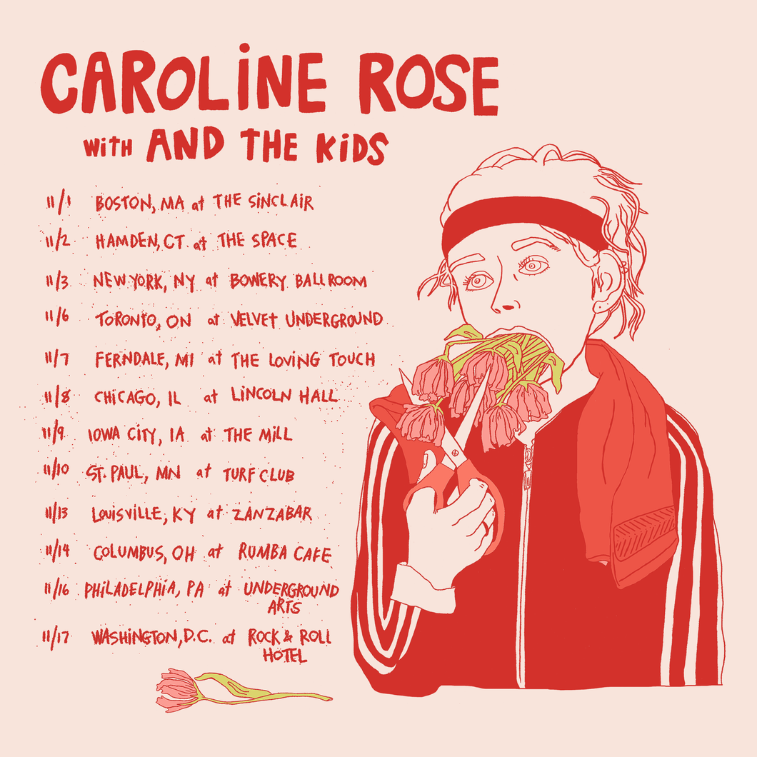 11/17/18 - Washington, DC - Rock & Roll Hotel - Caroline Rose Presale Tickets