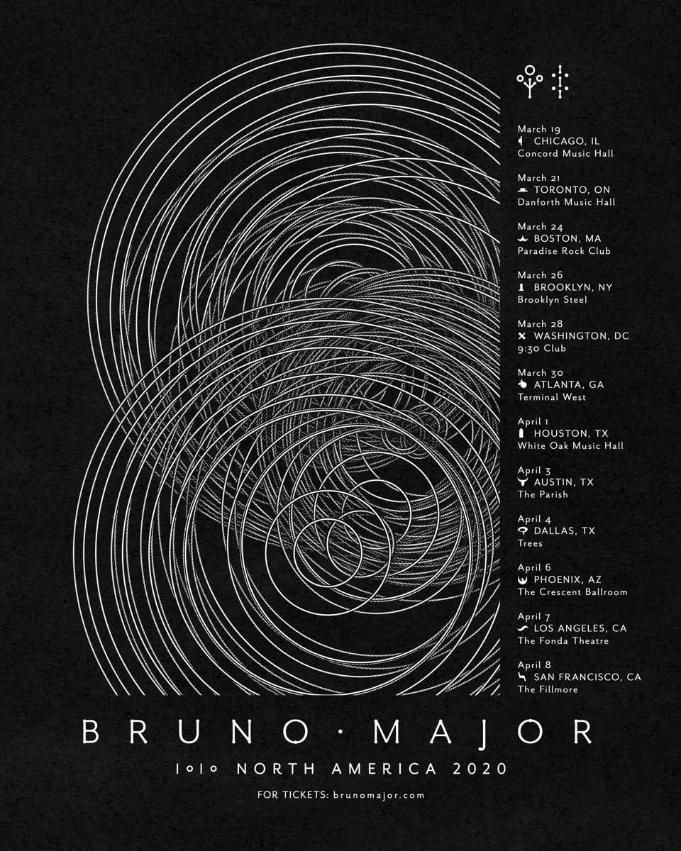 03/28/20 - Washington, D.C. - 9:30 Club - Bruno Major Ticketless Meet & Greet Upgrade Package
