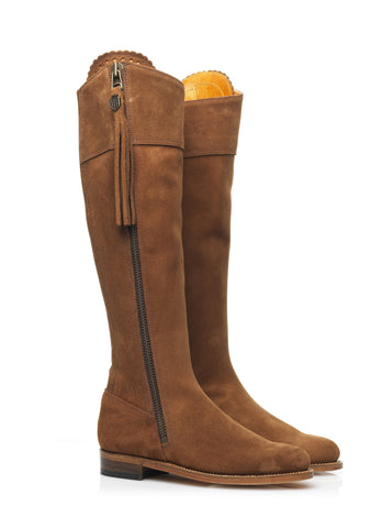 Fairfax & Favor Regina (Tan) Suede Boot