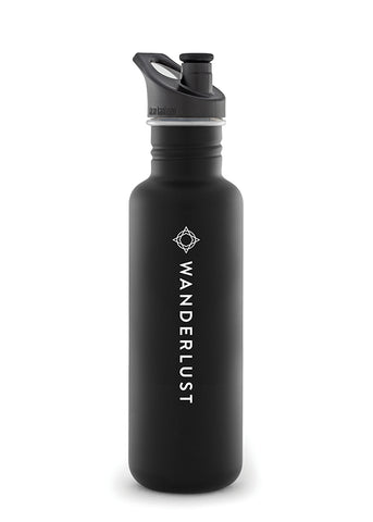 Classic 27oz (800ml) /Matt Black/ Wanderlust