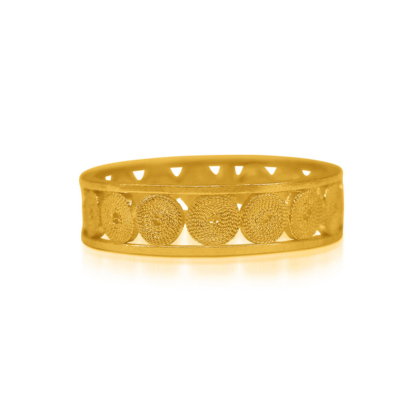 LORENA RING FILIGREE SILVER & GOLD - Olmox