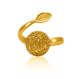LUCRECIA SIGNATURE RING FILIGREE SILVER & GOLD - Olmox