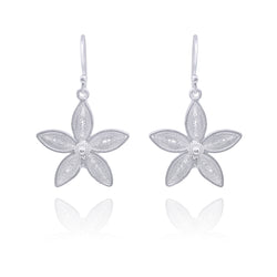 ELSA EARRINGS SILVER - Olmox