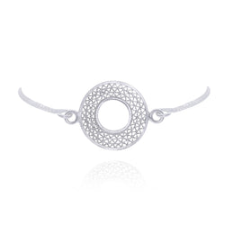 LIBBY SILVER ADJUSTABLE BRACELET - Olmox