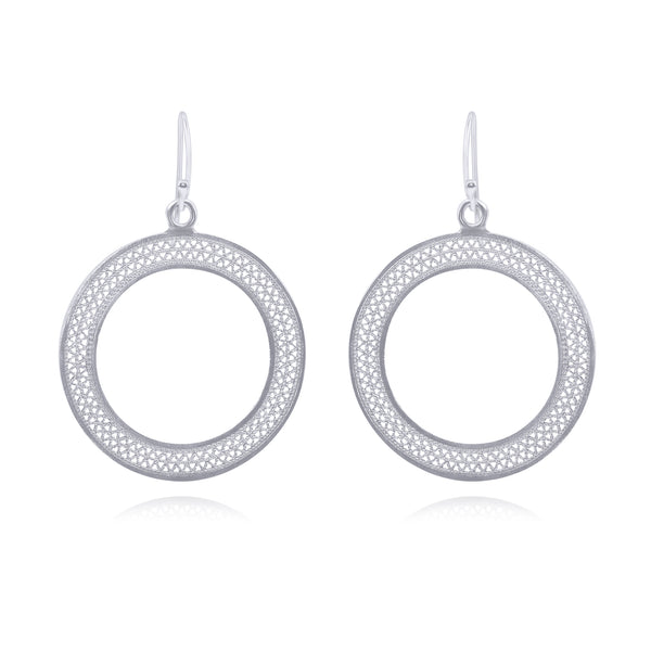LOLA MEDIUM EARRINGS SILVER