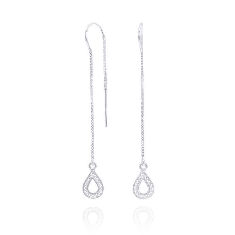 DANIELLA EARRINGS SILVER - Olmox