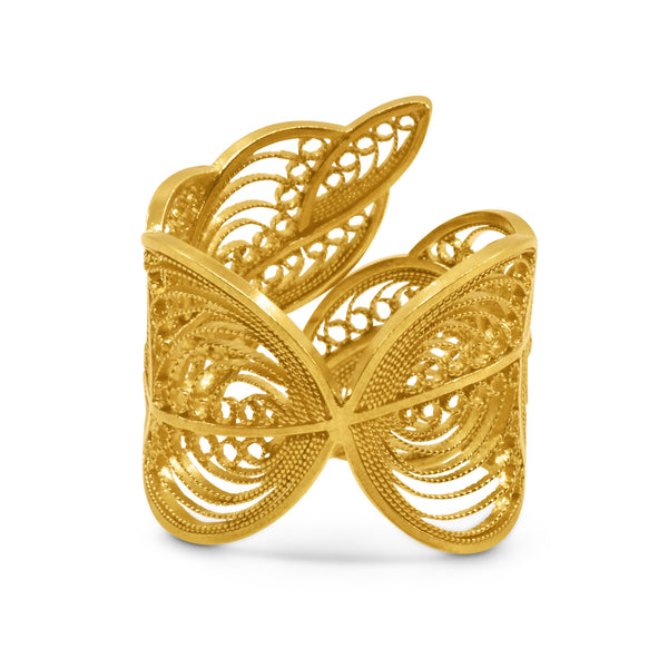 EDITH RING GOLD 18K - Olmox