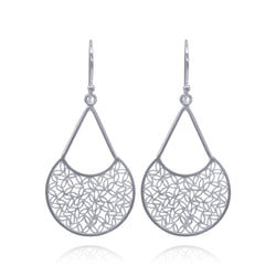 FUSION EARRINGS SILVER - Olmox