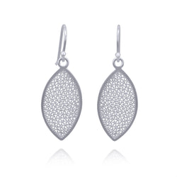 EDEN SMALL EARRINGS FILIGREE SILVER & GOLD - Olmox