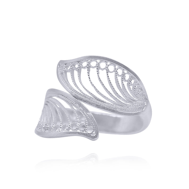 LAUREN RING FILIGREE SILVER & GOLD - Olmox