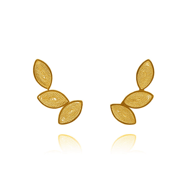 FLORENCE EARRINGS SOLID GOLD 18K