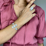 MARGO RING FILIGREE SILVER & GOLD - Olmox
