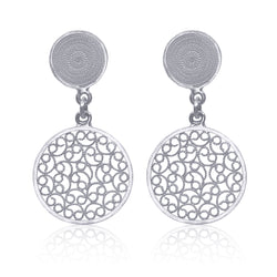Catalina earrings silver filigree earrings classic perfect gift handmade by olmox