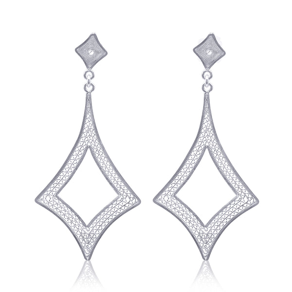 CLAIRE EARRINGS SILVER - Olmox