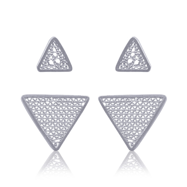PILI EXTENSION EARRINGS SILVER - Olmox