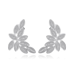 SALOMON LARGE EARRINGS SILVER - Olmox